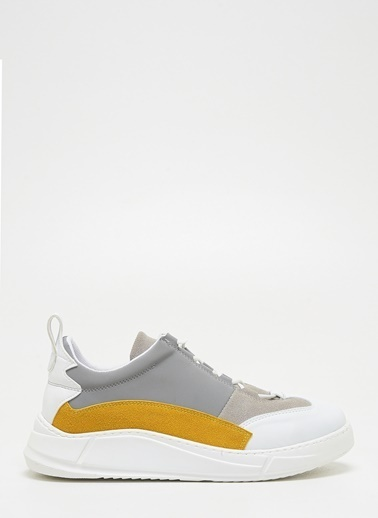 F By Fabrika Erkek Siyah-Lacivert Sneakers COSMOS Renkli